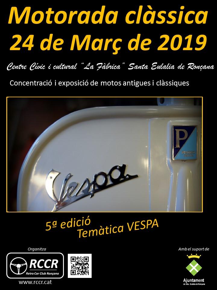 """SALIDAS (CAT): Exposición de """"La Vespa"""" 24.03.2019 Acc50514"""