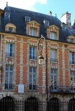 historique - Marie de Rabutin-Chantal, Marquise de Sévigné [Madame de Sévigné] 1place11
