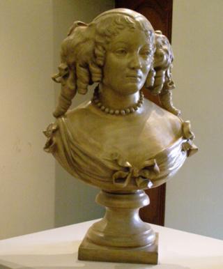 politique - Marie de Rabutin-Chantal, Marquise de Sévigné [Madame de Sévigné] Buste-10