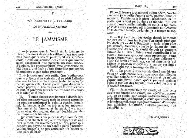 culpabilité - Francis Jammes Manife10