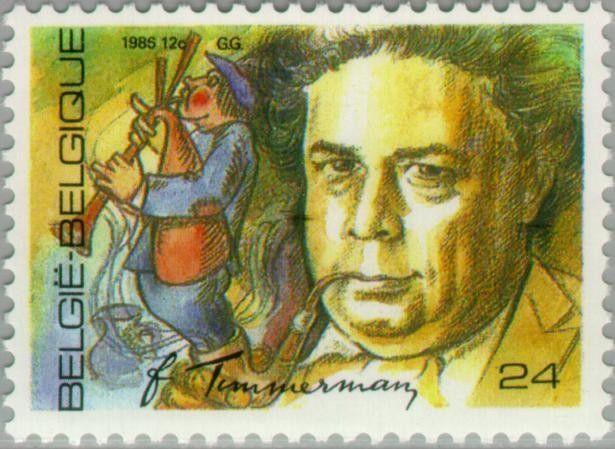 religion - Felix Timmermans Stamp10