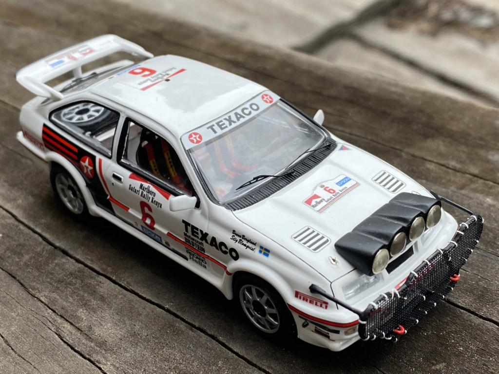 Ford Sierra Cosworth 1987 Safari Rally Crashed in practice.  Sierra17