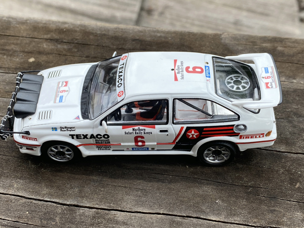 Ford Sierra Cosworth 1987 Safari Rally Crashed in practice.  Sierra18
