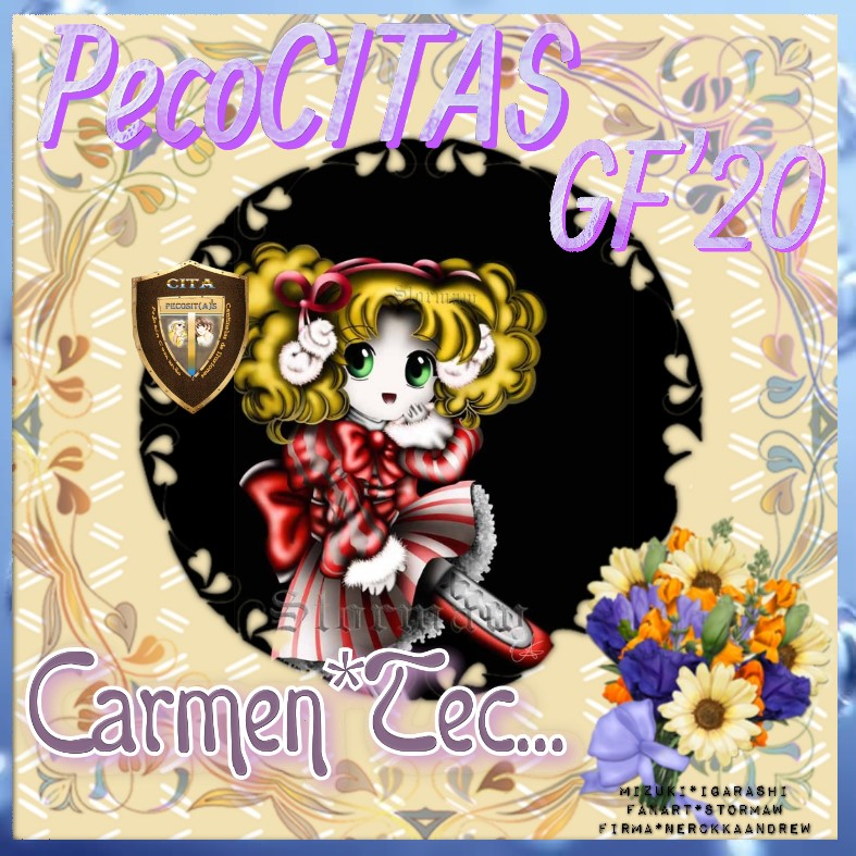 """****PELOTON PECOCITAS**** FIRMA REGALO – Imagen - """"Chibi Candy"""" ****CERRADO-GRACIAS Carmen12"""
