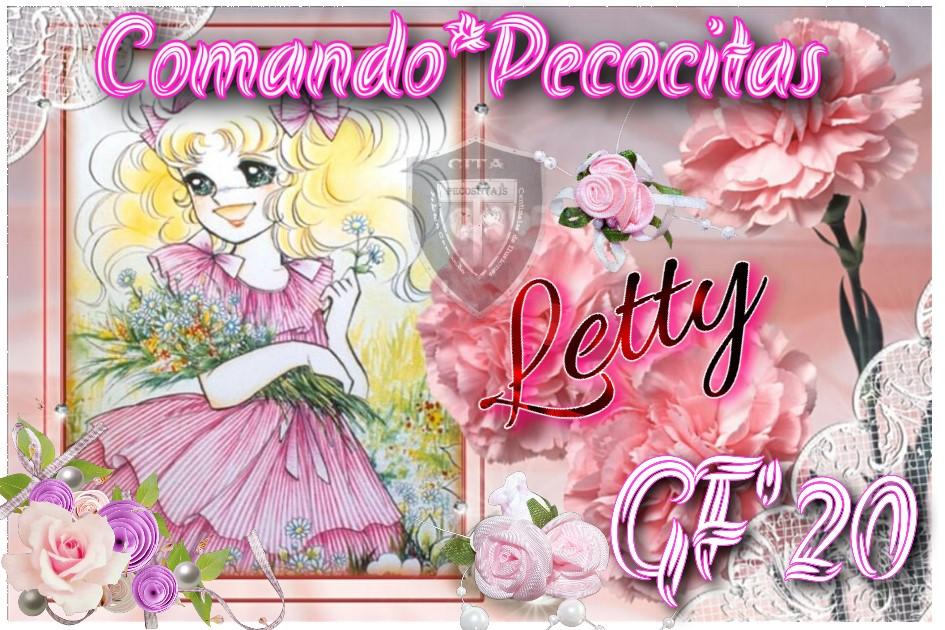 ENTREGADO Y CERRADO**PELOTÓN COMANDO PECOCITAS**QUINTO APORTE PARA CANDY**FIRMA DE REGALO**CANDY ROSA Letty13