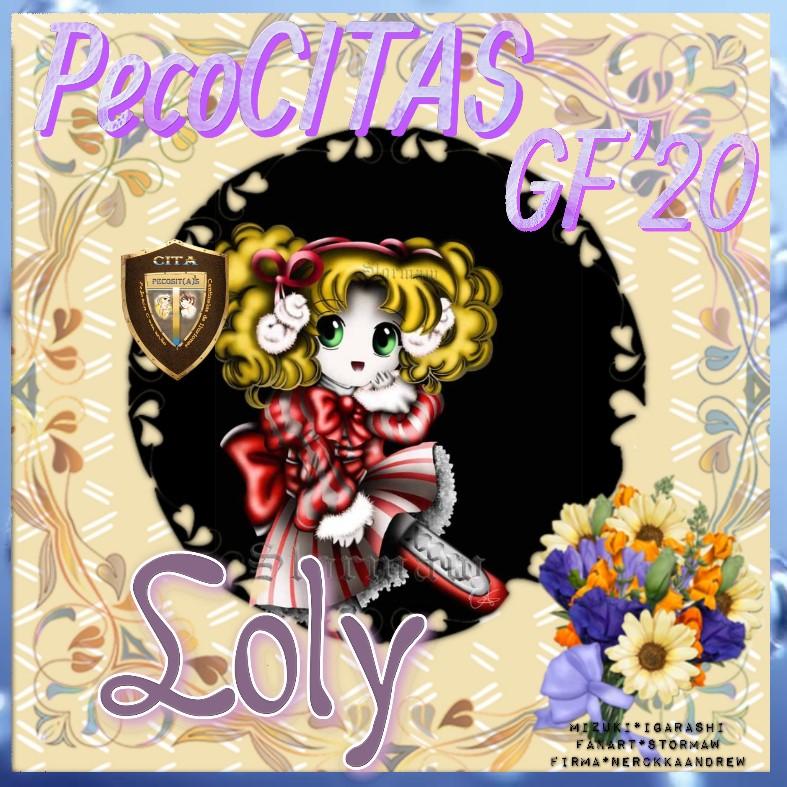 """****PELOTON PECOCITAS**** FIRMA REGALO – Imagen - """"Chibi Candy"""" ****CERRADO-GRACIAS Loly19"""