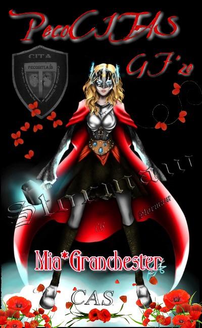 """****PELOTON PECOCITAS**** FIRMA REGALO – Con la imagen de Candy, """"Lady Thor"""" ****CERRADO-GRACIAS Mia_gr10"""