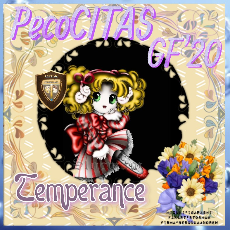 """****PELOTON PECOCITAS**** FIRMA REGALO – Imagen - """"Chibi Candy"""" ****CERRADO-GRACIAS Temper15"""