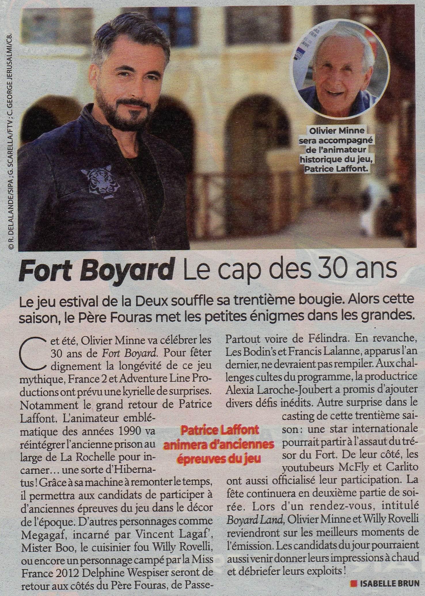 """Toutes les infos et réactions sur les 2e partie de soirée """"Toujours plus fort"""" de Fort Boyard 2019 Img01810"""