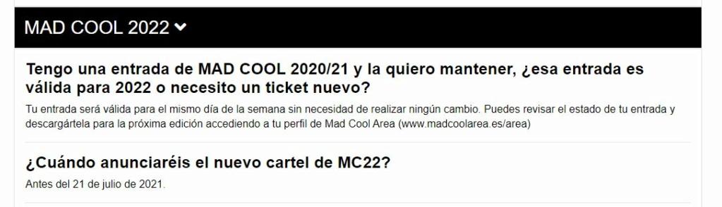 Mad Cool 2022: Metallica • Faith No More • St. Vincent • Deftones• Parcels • Phoebe Bridgers • Beabadoobee • Tom Misch y muchos más • ¡Vuelve el ruoc! - Página 6 Captur10
