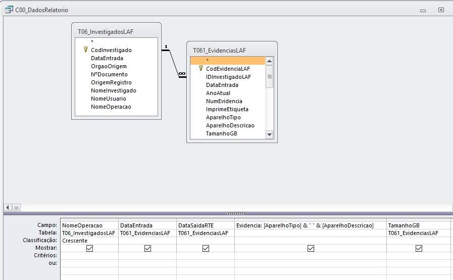 [Resolvido]Exportacao de Consulta para Excel com Erro 3078 Consul10