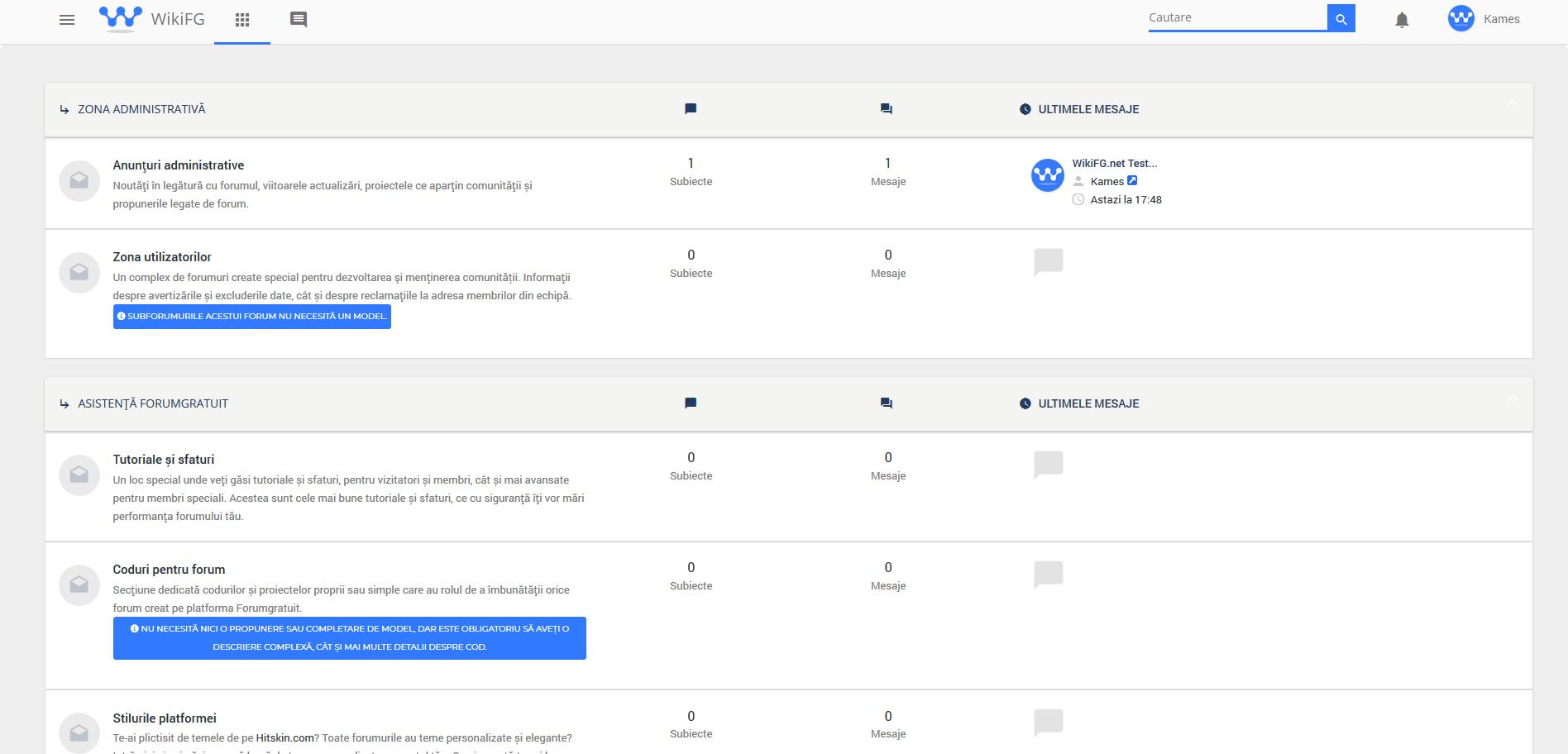 WikiFG.net - Tutoriale, teme și suport gratuit pentru Forumgratuit Wikifg10