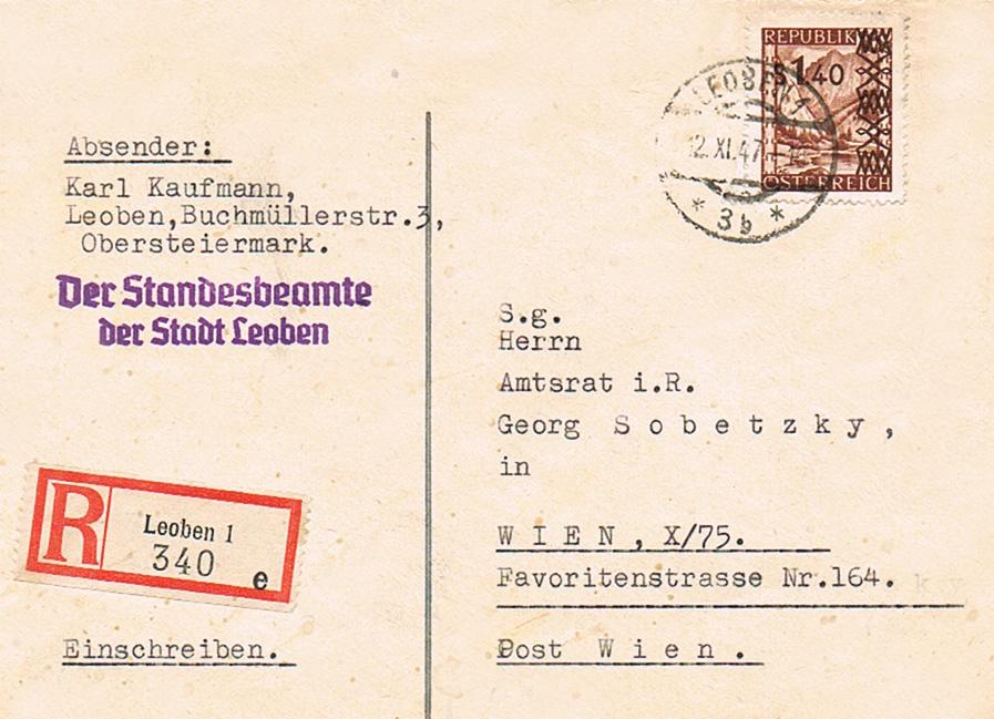 Sammlung Bedarfsbriefe Österreich ab 1945 - Seite 11 As11