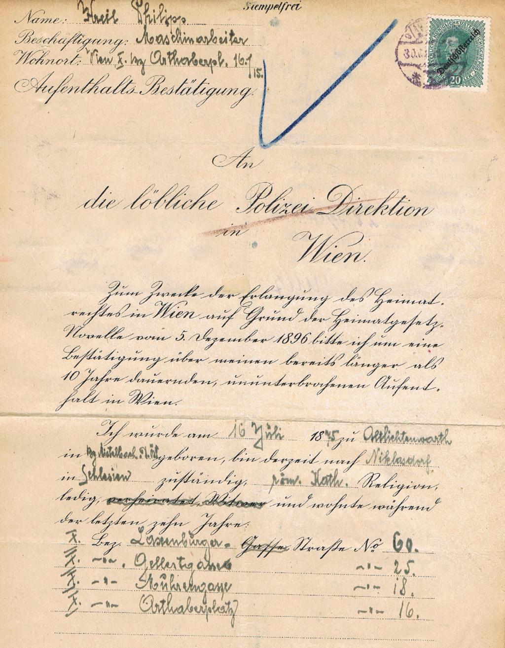 Inflation in Österreich - Belege - 1918 bis 1925 - Seite 22 Aufent10