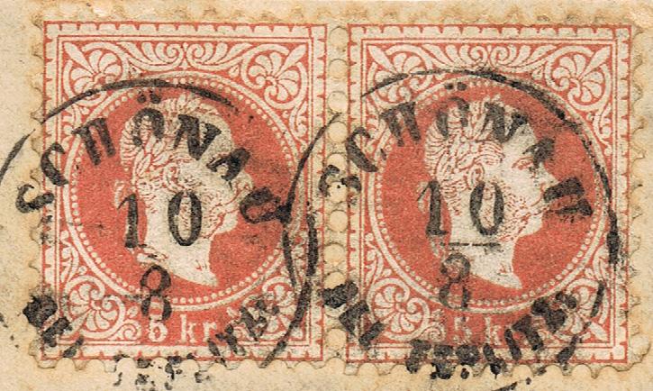 Freimarken-Ausgabe 1867 : Kopfbildnis Kaiser Franz Joseph I - Seite 19 B210