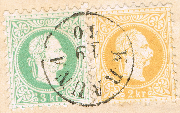 Freimarken-Ausgabe 1867 : Kopfbildnis Kaiser Franz Joseph I - Seite 19 B310