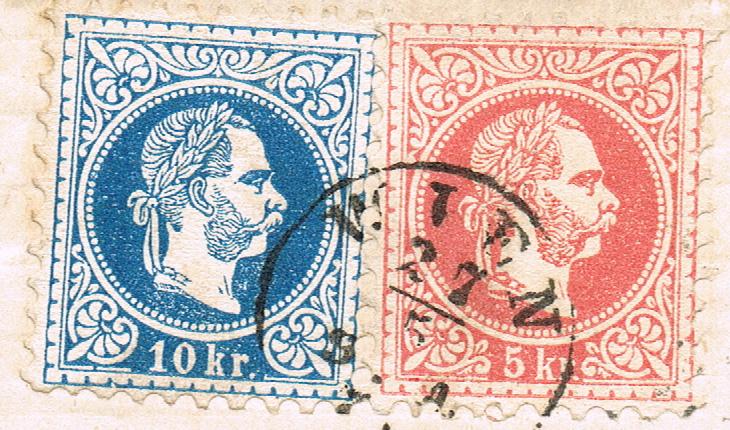 Freimarken-Ausgabe 1867 : Kopfbildnis Kaiser Franz Joseph I - Seite 19 B410