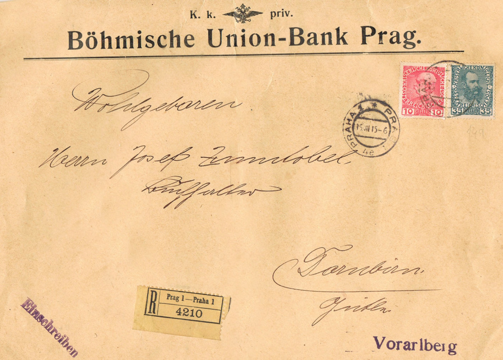 Briefe / Poststücke österreichischer Banken - Seite 4 Ba11