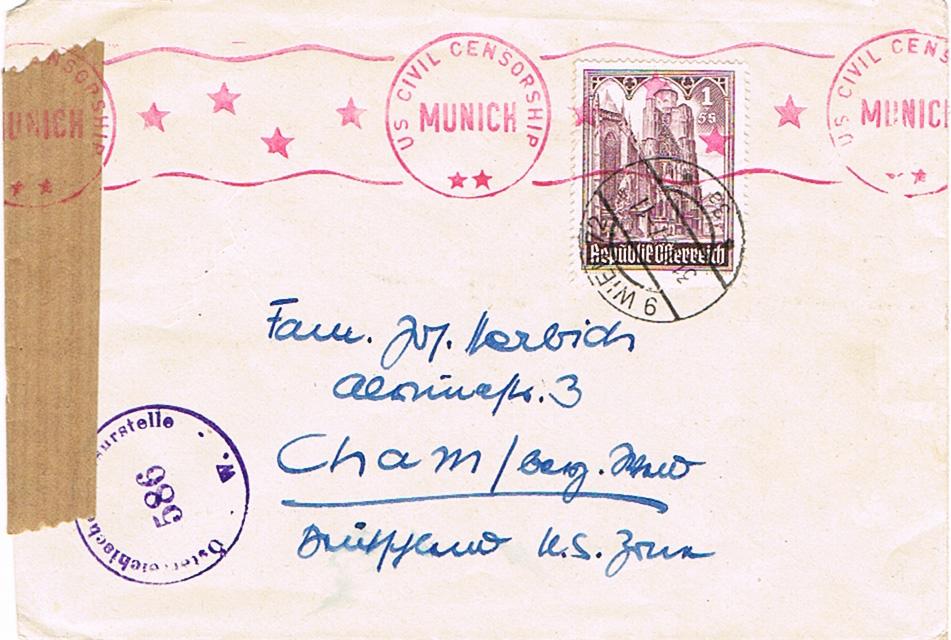 Sammlung Bedarfsbriefe Österreich ab 1945 - Seite 10 Bd10