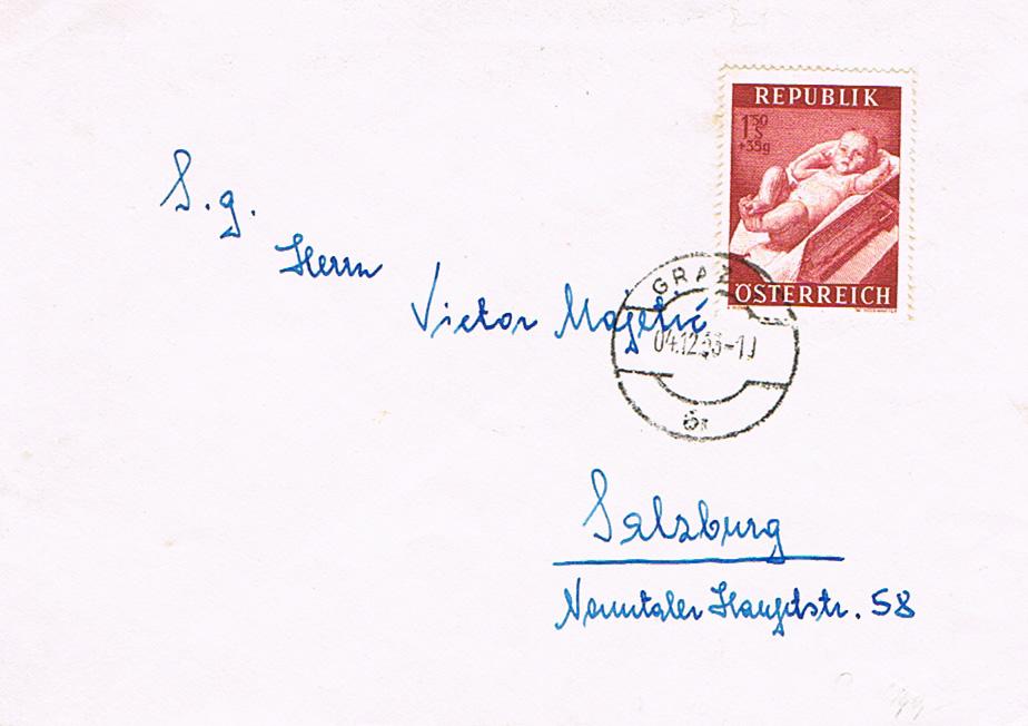 Sammlung Bedarfsbriefe Österreich ab 1945 - Seite 10 Bd11