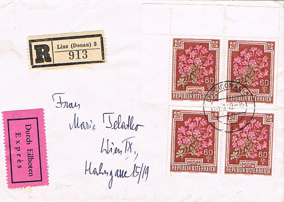 Sammlung Bedarfsbriefe Österreich ab 1945 - Seite 13 Bl12