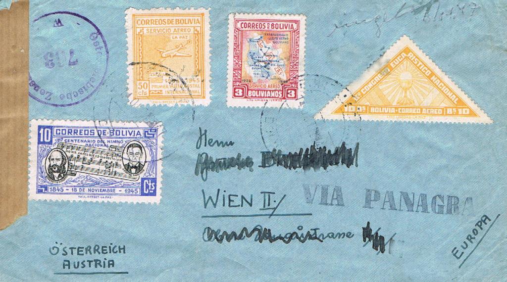 Flugpost nach Österreich - Seite 4 Bolivi10