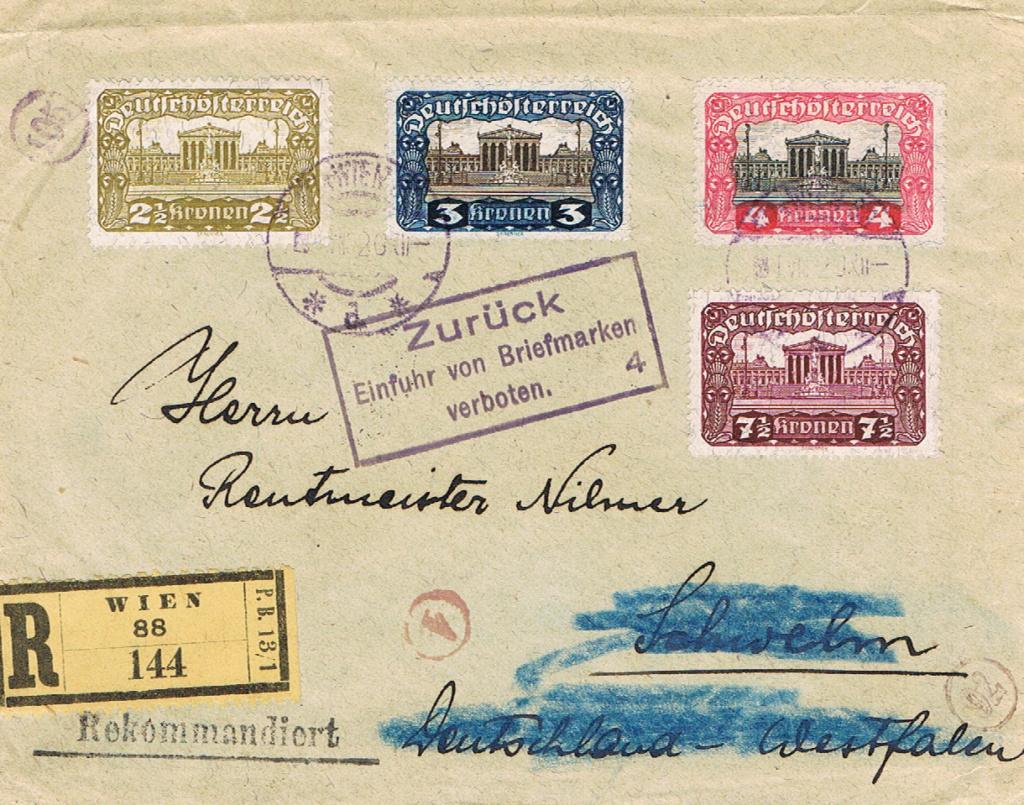 Inflation in Österreich - Belege - 1918 bis 1925 - Seite 17 Br10