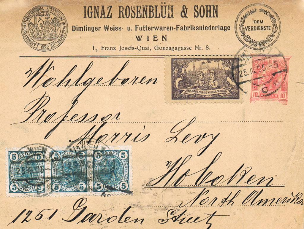Private Briefumschläge Monarchie Bu11