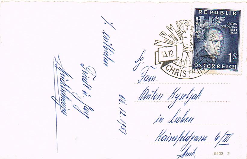 Sammlung Bedarfsbriefe Österreich ab 1945 - Seite 13 Ck11