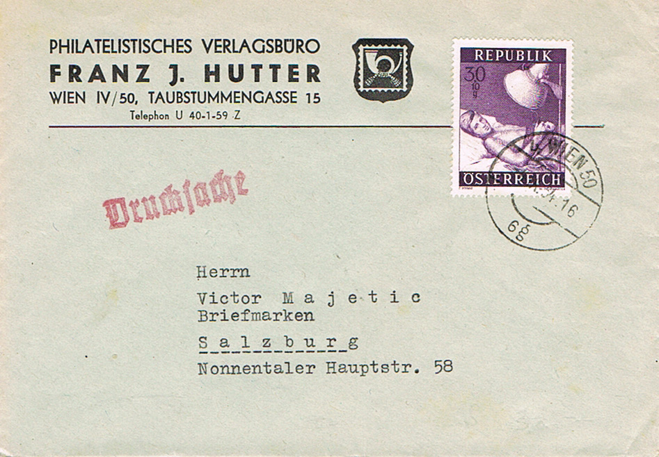 Sammlung Bedarfsbriefe Österreich ab 1945 - Seite 12 Dr11