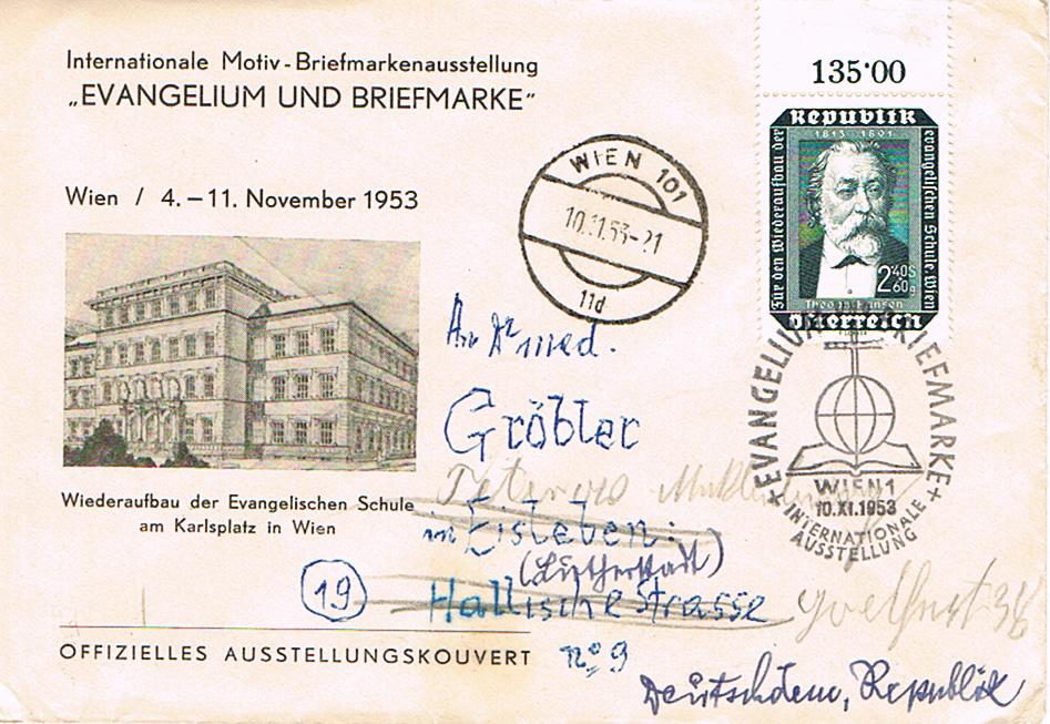 Sammlung Bedarfsbriefe Österreich ab 1945 - Seite 11 Ev10