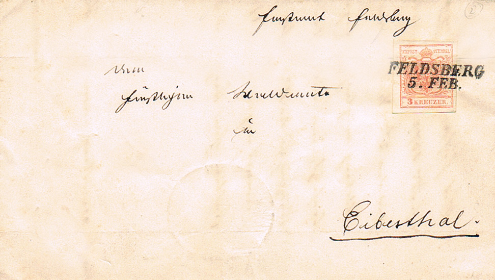 Die erste Österreichische Ausgabe 1850 - Seite 22 Feldsb10