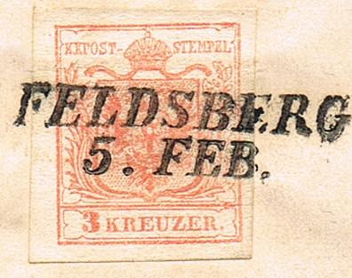 Die erste Österreichische Ausgabe 1850 - Seite 21 Feldsb11