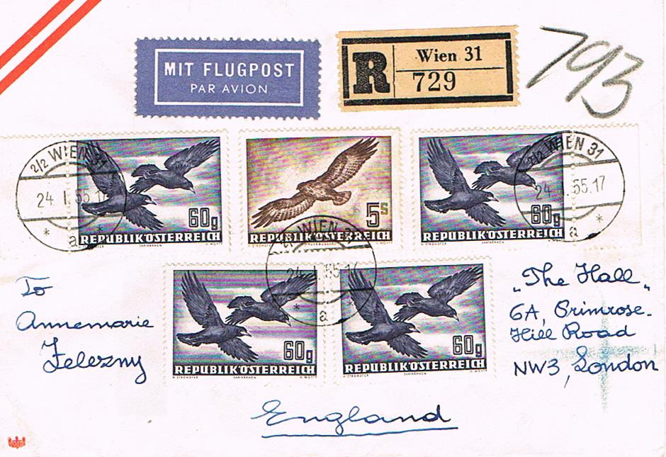 Sammlung Bedarfsbriefe Österreich ab 1945 - Seite 10 Fl11