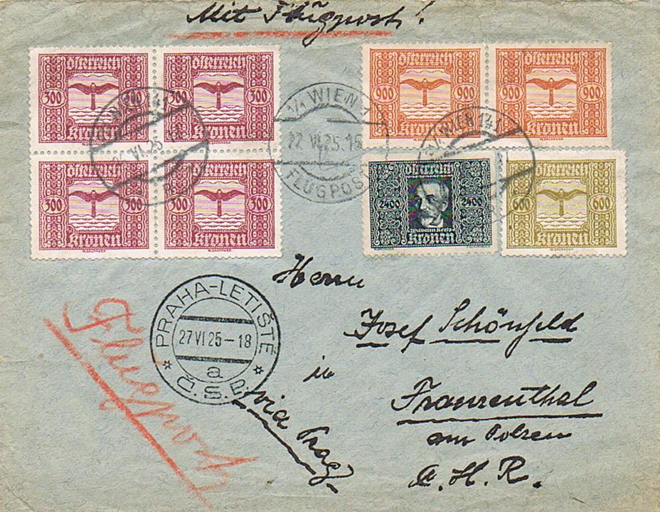 Inflation in Österreich - Belege - 1918 bis 1925 - Seite 20 Fl16
