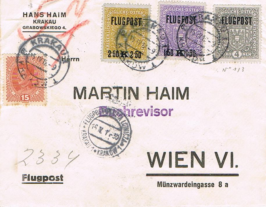 Inflation in Österreich - Belege - 1918 bis 1925 - Seite 20 Fl17