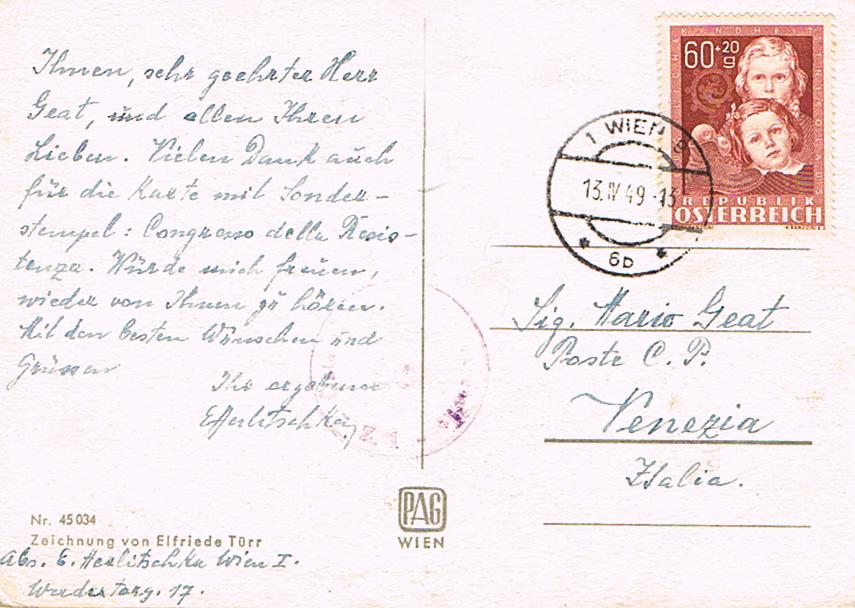 Sammlung Bedarfsbriefe Österreich ab 1945 - Seite 11 Gk10