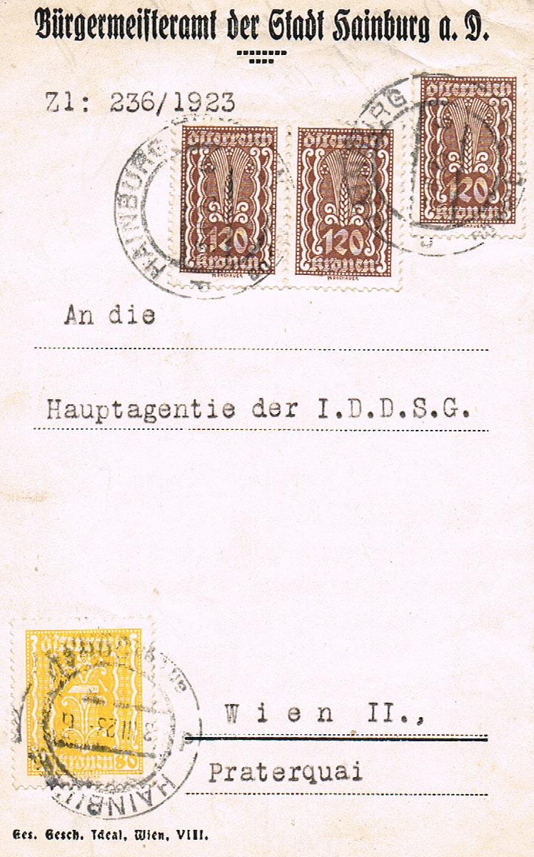 Inflation in Österreich - Belege - 1918 bis 1925 - Seite 22 Hai10