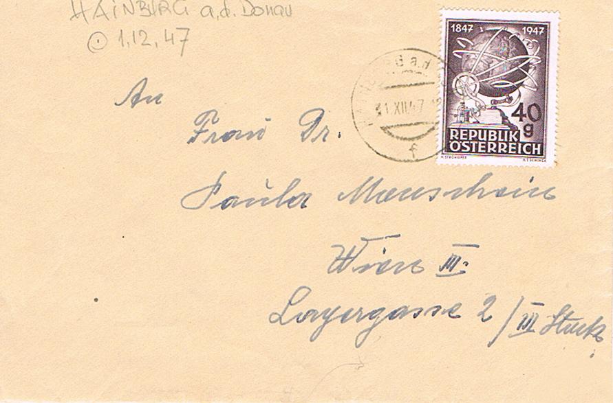 Sammlung Bedarfsbriefe Österreich ab 1945 - Seite 11 Hainb10