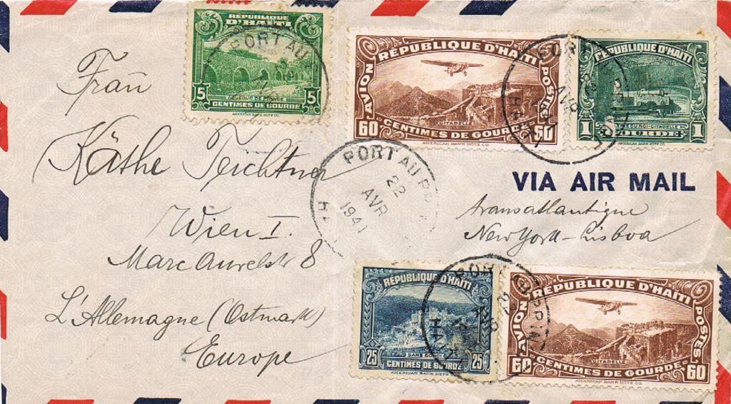 Flugpost nach Österreich - Seite 4 Haiti10