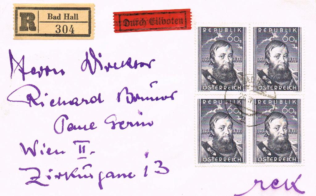 Sammlung Bedarfsbriefe Österreich ab 1945 - Seite 14 Hofer10