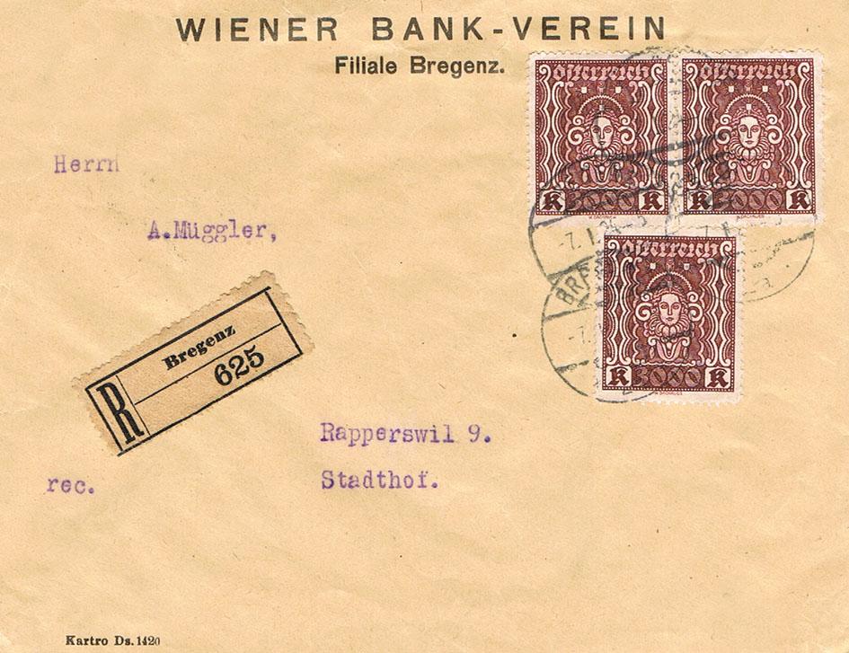 Inflation in Österreich - Belege - 1918 bis 1925 - Seite 16 If10