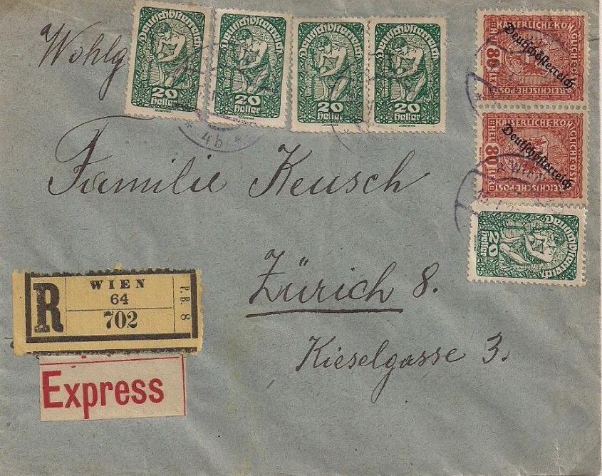 Inflation in Österreich - Belege - 1918 bis 1925 - Seite 18 If12