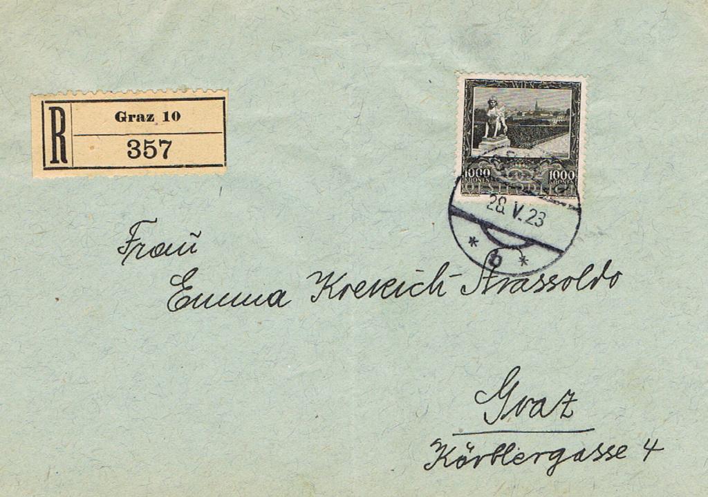 Inflation in Österreich - Belege - 1918 bis 1925 - Seite 21 Inf13