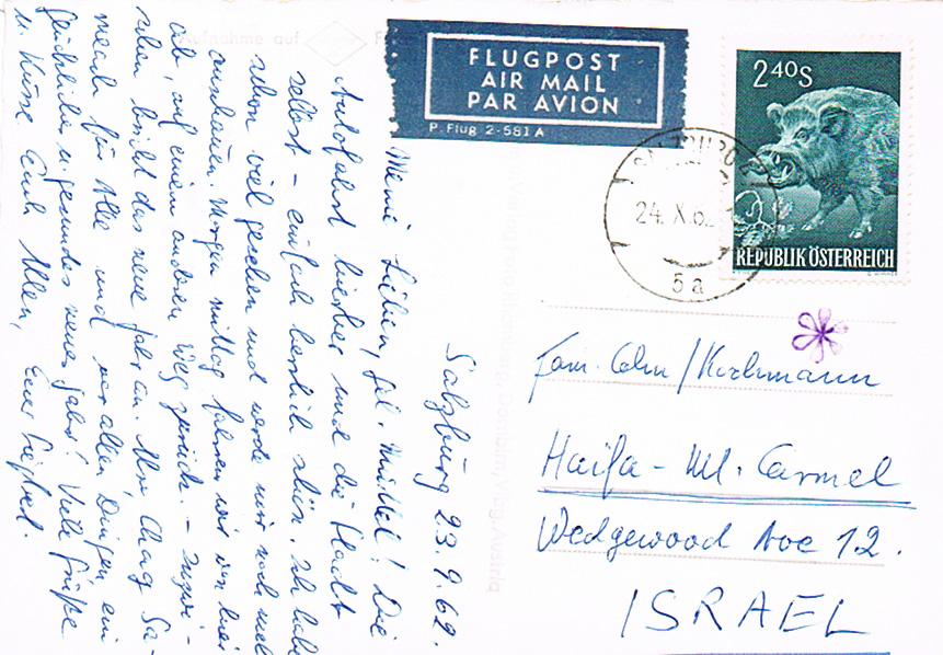 Sammlung Bedarfsbriefe Österreich ab 1945 - Seite 12 Isr10