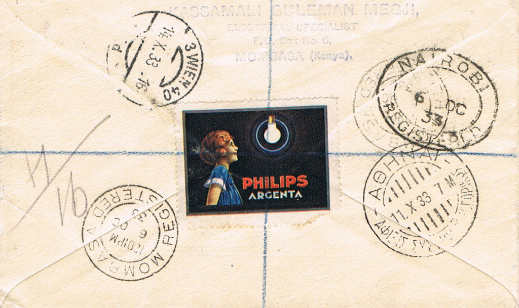 Flugpost nach Österreich - Seite 4 Keniar10