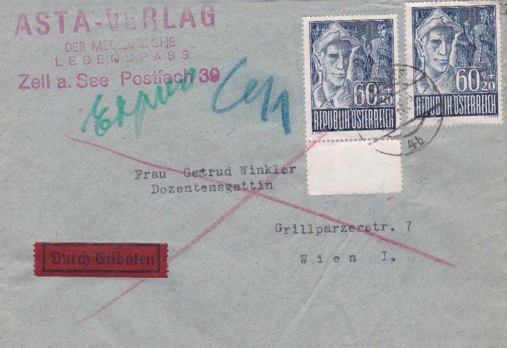 Sammlung Bedarfsbriefe Österreich ab 1945 - Seite 12 Kg10
