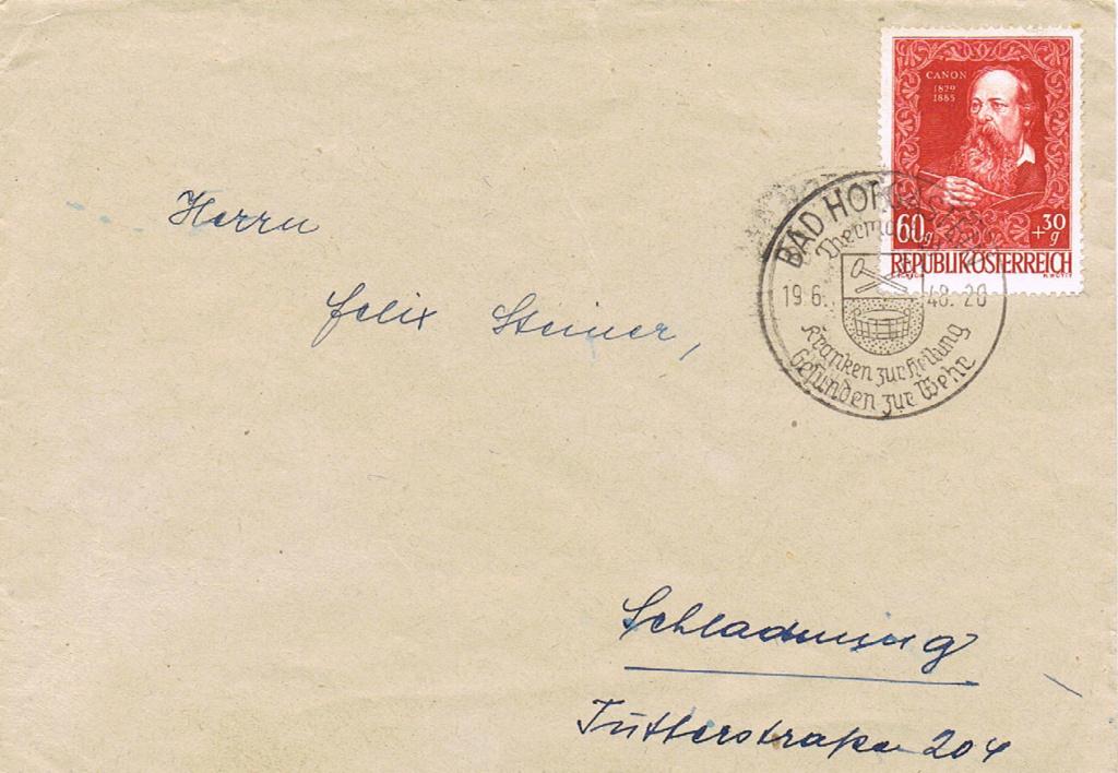 Sammlung Bedarfsbriefe Österreich ab 1945 - Seite 14 Kh10