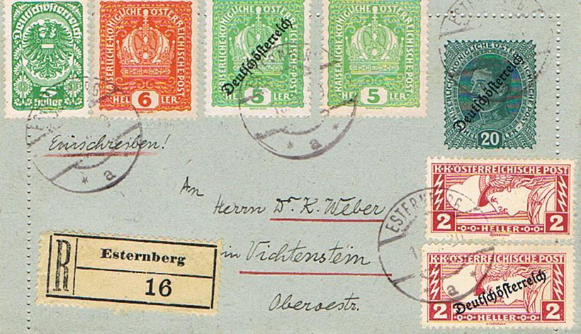 Inflation in Österreich - Belege - 1918 bis 1925 - Seite 17 Kj10