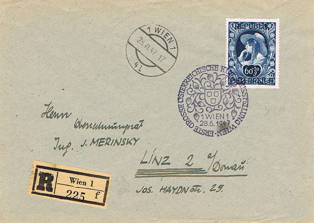 Sammlung Bedarfsbriefe Österreich ab 1945 - Seite 12 Kl11